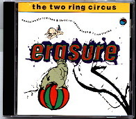 erasure the two ring circus cd